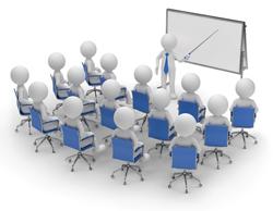 Immagine stilizzata di una riunione